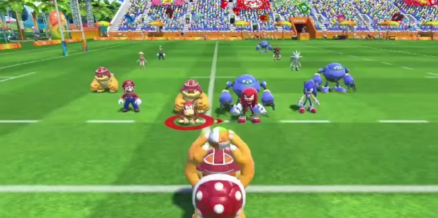 Mario & Sonic at the Rio 2016 Olympics | Rugby