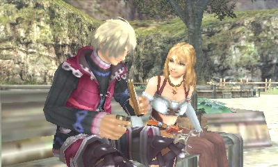 Xenoblade Chronicles 3D | Shulk and Fiora