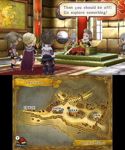 Legend of Legacy | Explore