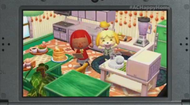 E3 2015 Nintendo - Animal Crossing: Happy Home Designer 6