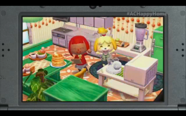 E3 2015 Nintendo - Animal Crossing Happy Home Designer 6