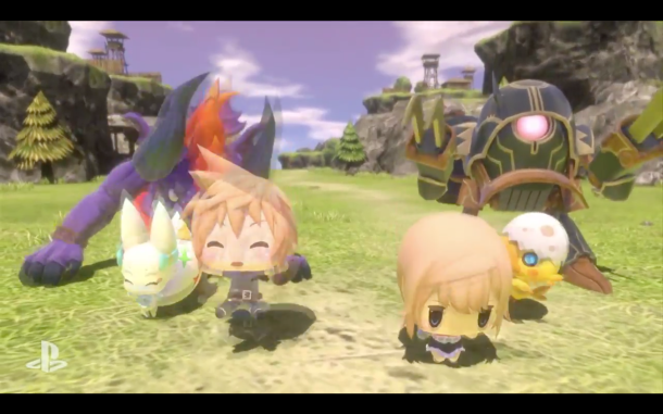 E3 2015 Sony PlayStation | World of Final Fantasy