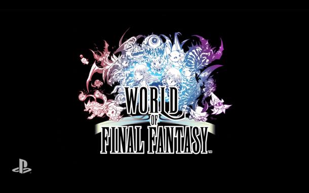 E3 2015 Sony - World of Final Fantasy 18