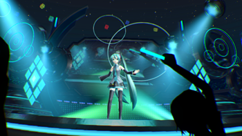 Hatsune Miku VR Tech Demo