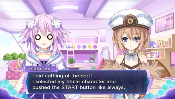 Neptunia Re;Birth 3 | Character Select