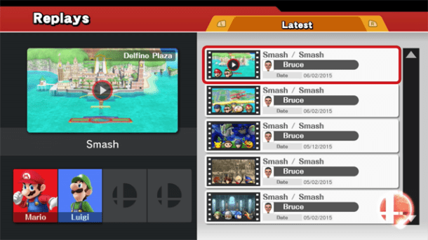 YouTube Replay Videos | Super Smash Bros. for Wii U