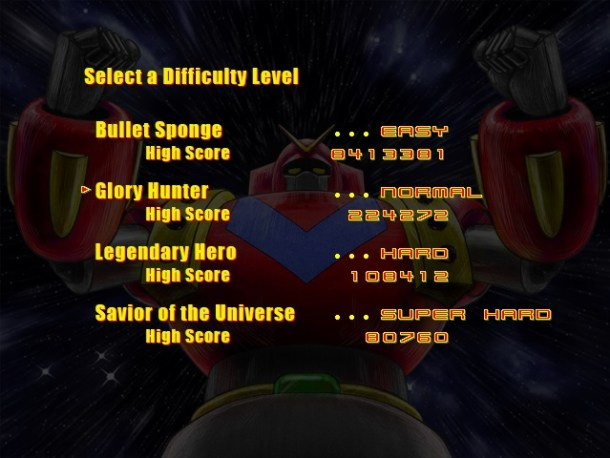 Supercharged Robot VULKAISER | High Scores