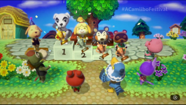 Animal Crossing: Amiibo Festival | oprainfall