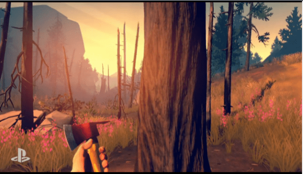 E3 2015 Sony PlayStation | Firewatch
