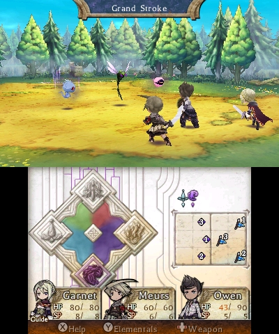 Legend of Legacy | Battle
