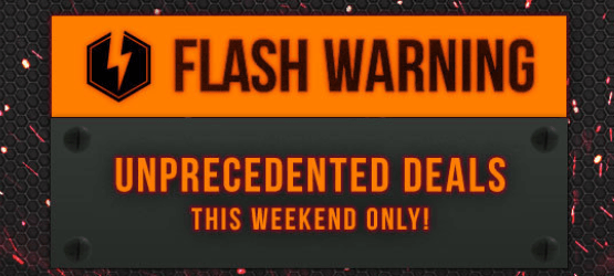 Flash Sale This Weekend on the PlayStation Store