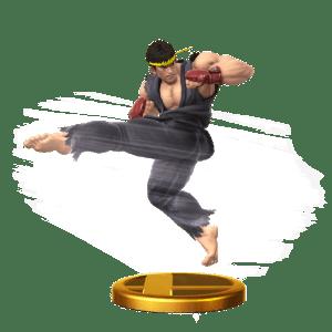 Super Smash Bros. - Ryu Trophy