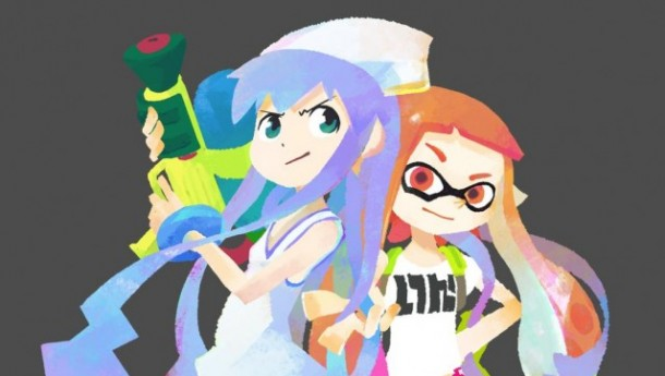 Splatoon X Squid Girl