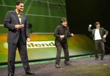 Iwata - Wii Sports Tennis with Reggie and Miyamoto