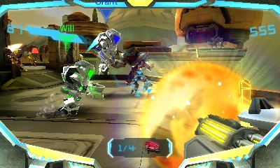 Metroid Prime Federation Force 06