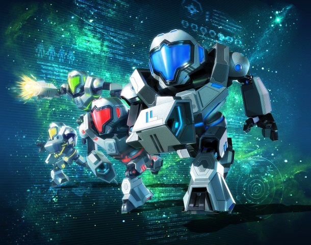 Metroid Prime Federation Force - Artwork