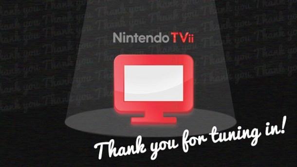 Nintendo TVii Shutdown