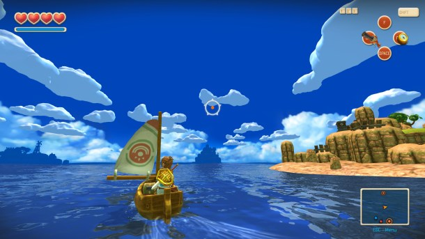 Oceanhorn: Monster of the Uncharted Seas | Sea Travel