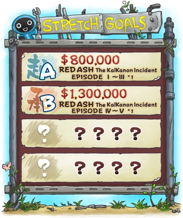 RED ASH | Stretch Goals