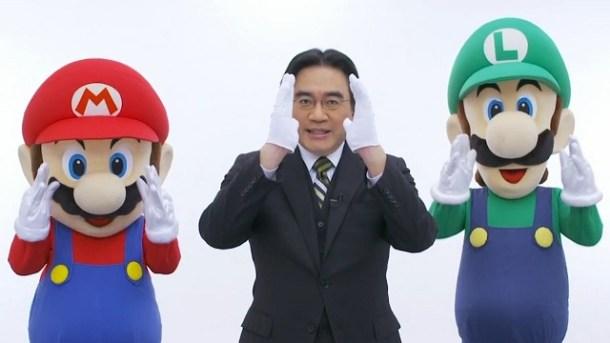 Satoru Iwata - White Gloves | oprainfall