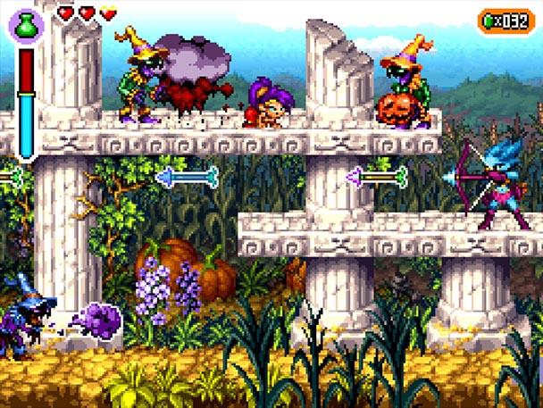 Shantae: Risky's Revenge   Surrounded by enemies!