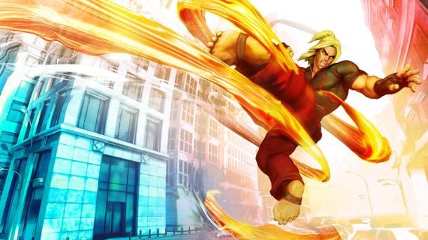 Street Fighter V Ken Official Art
