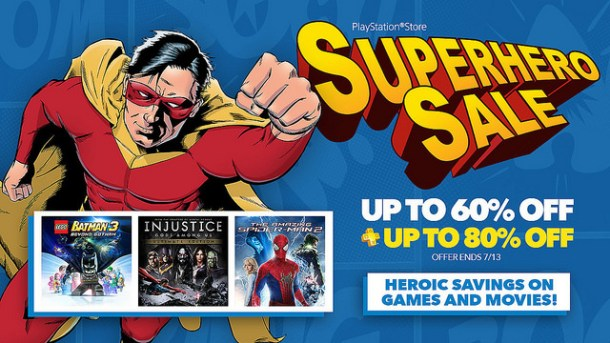 Superhero sale
