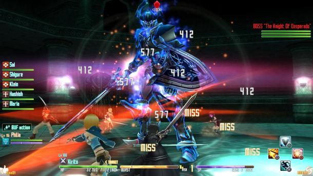 Sword Art Online Re: Hollow Fragment   Boss