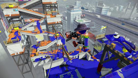 Splatoon | Dangerous Map