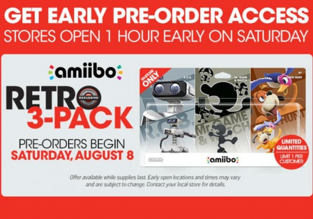 Amiibo Retro Pack Event