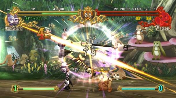 Battle Fantasia: Revised Edition   Combo Damage