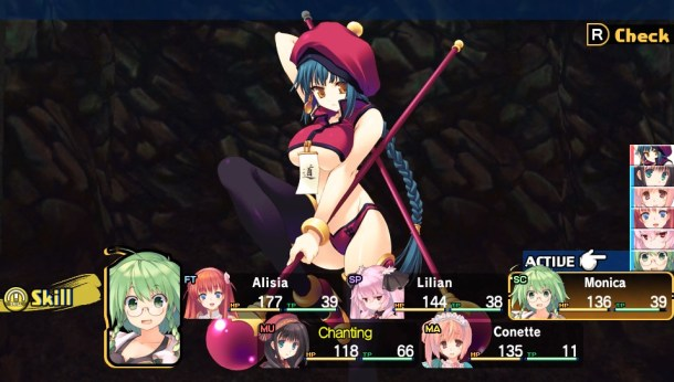 Dungeon Travelers 2 | Battle