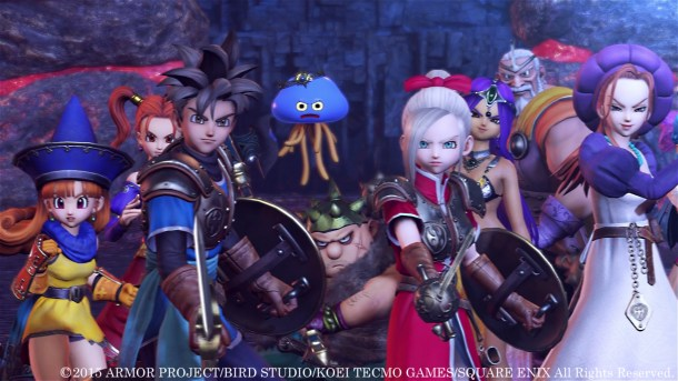 Dragon Quest Heroes: The World Trees Woe and the Blight Below | oprainfall