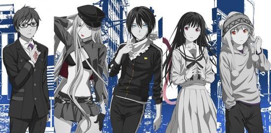 Noragami Main characters