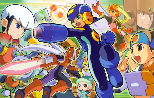 Rockman Exe boxart | The Future of Mega Man