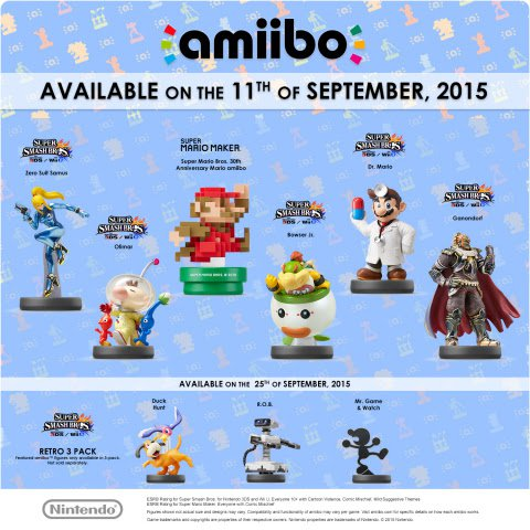 September Amiibo Wave