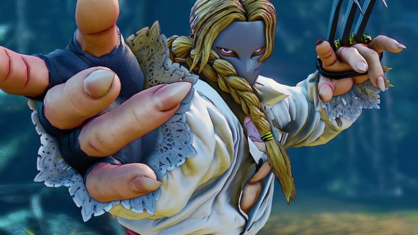 Street Fighter V Vega intro pose