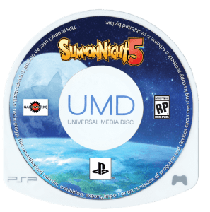 Summon Night 5 - UMD Cover 3