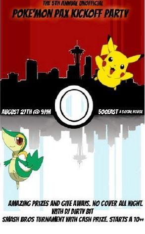 Unofficial Pokémon Event Poster