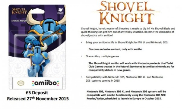 Shovel Knight amiibo - GAME