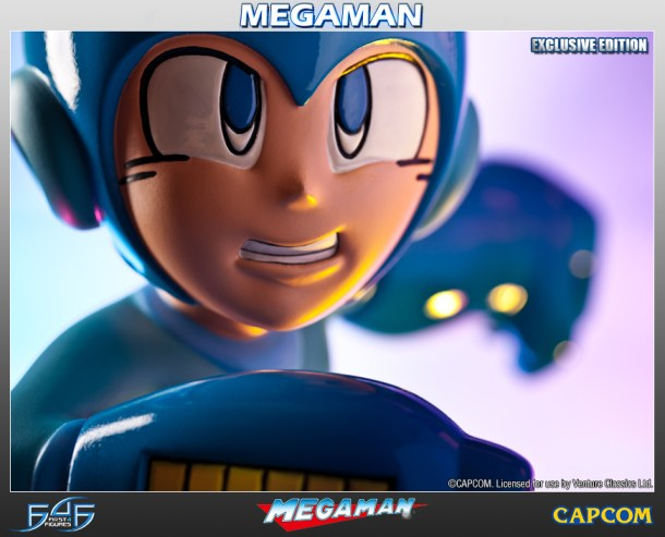 Mega Man Figure | Closeup