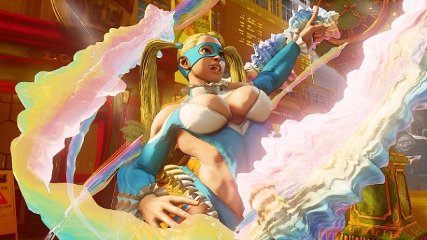 Street Fighter Rainbow Mika