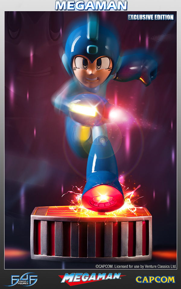 Mega Man Figure | Pose