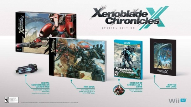 Xenoblade Chronicles X Special Edition | oprainfall
