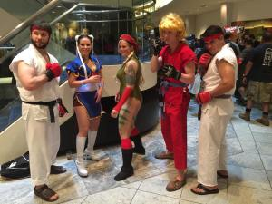 DragonCon l Street Fighter cosplay