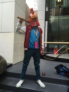 DragonCon l Hotline Miami Cosplay