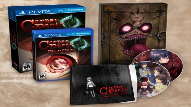 Corpse Party: Blood Drive LE featured