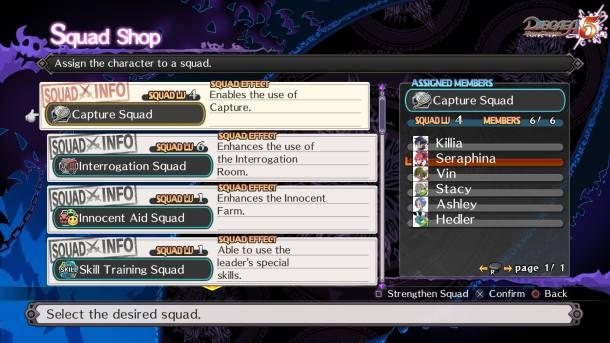 Disgaea 5 | Squads