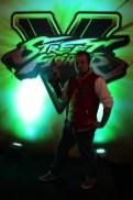 Captain N enjoying some Street Fighter V
