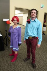Kumatora and Duster of Mother 3 fame. Everybody knows that! (Ctrl W Wikipedia page)